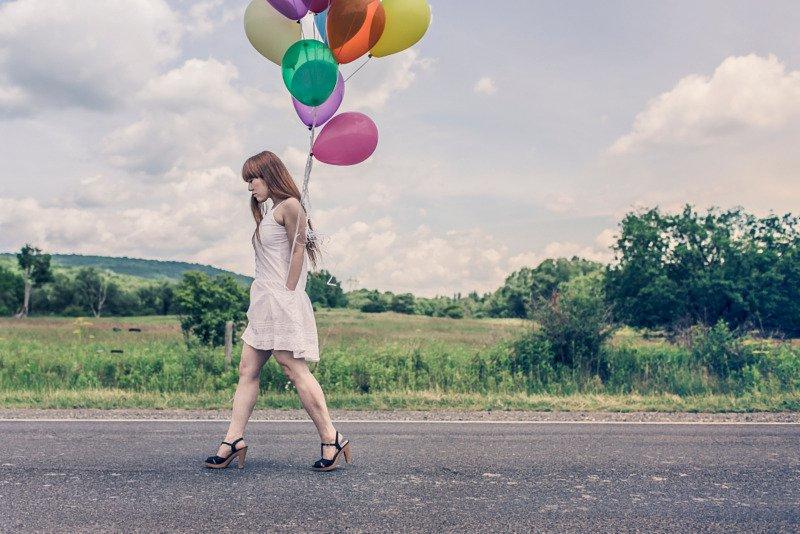 lopen ballonnen